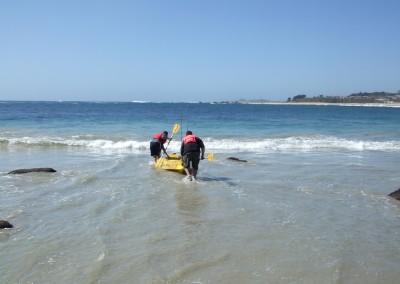 Saliendo al Mar