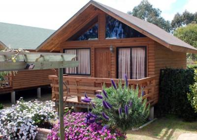 Cabaña No.4, junto al quincho